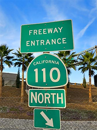 110 North - Los Angeles Freeways