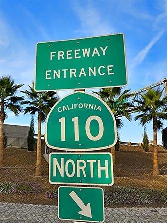 110 North - Los Angeles Freeways