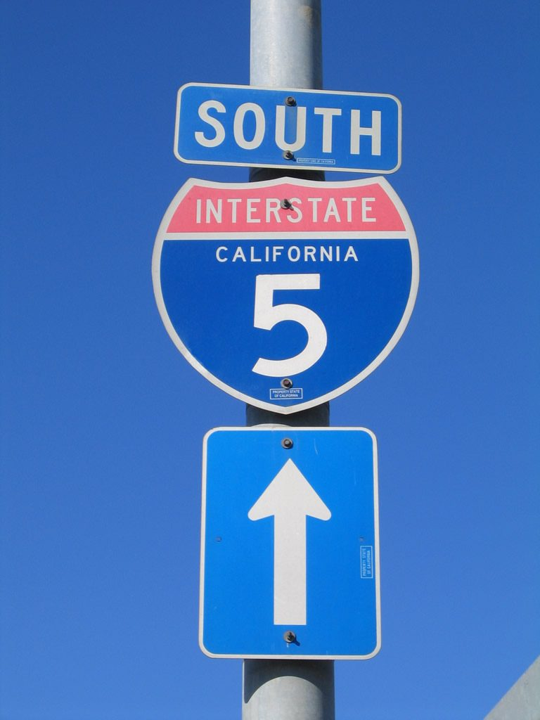 I-5 South Freeway - LA Freeways