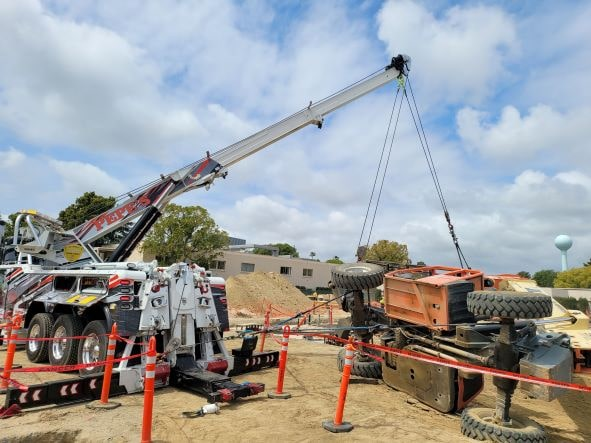 Construction towing | Pepe's Towing Los Angeles