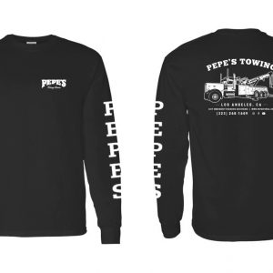 Pepe's Long Sleeve Full Print Black