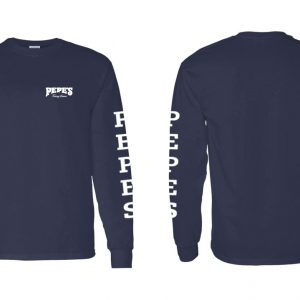 Pepe's Long Sleeve Simple Navy